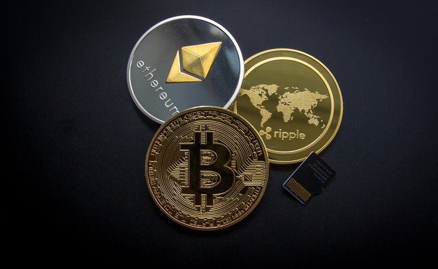 3 types of cryptocurrency coins